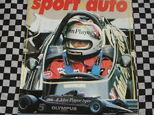 revue SPORT AUTO 1978 BMW 323 i / FIAT 131 RACING / RALLYE 1000 PISTES  / n° 199