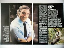 COUPURE DE PRESSE-CLIPPING : Lino VENTURA Made in England [2pages] 11/1978