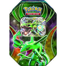 Pokemon Rayquaza Fall Tin 2015 NEW