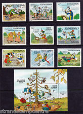 Romania - 1986 Band Concert (Disney) - U/M - SG 5021-9 + MS5030