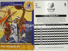 Panini NBA (Adrenalyn XL) 2013/2014 - #027 Zach Randolph - Golden Foil Signature