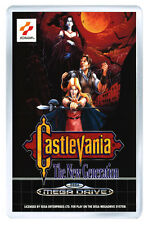 CASTLEVANIA THE NEW GENERATION MEGA DRIVE FRIDGE MAGNET IMAN NEVERA