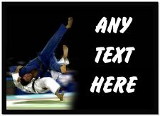 Judo Personalised Computer Mouse Mat