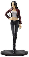 One Piece Boa Hancock Jeans Freak Red Version PVC Figure BANPRESTO
