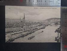 CPSM Rouen Vue générale prise du Pont Transbordeur