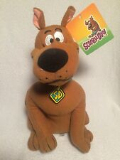 "Scooby Doo Plush Dog With Tag 12"" Standing Stuffed Animal Hanna Barbera Toy"