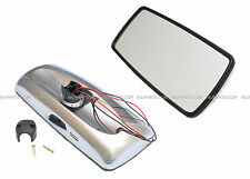 Freightliner M2 Columbia Rear View Main Mirror Chrome HEATED- Driver Side