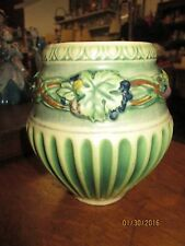 Vintage Roseville Pottery 1923 Corinthian Pattern Not Signed