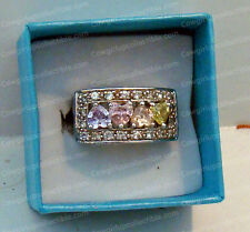 Beautiful Vintage 925 Sterling Silver Mother's Ring (Hallmarked SX Thailand)