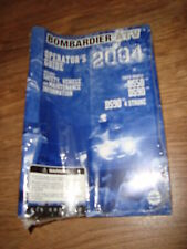 NEW Bombardier DS 50 90 Operators Guide Manual 2004