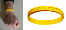 BRACCIALETTO LIVESTRONG ORIGINALE MISURA ADULTO WRISTBAND ADULT MEASURE