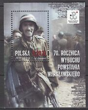 POLAND 2014 **MNH SC# ( )  S/S  70th Anniversary of the Warsaw Uprising