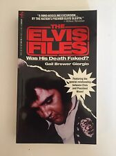 The Elvis Files Book by Brewer Giorgio Was Elvis Presley's Death Faked? (NEW)
