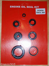 Honda CB360 CL360 Oil Seal Kit CJ360 1974 1975 1976 1977 360 Motorcycle Engine!