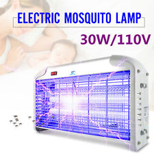 110V 30W UV Indoor Electric Mosquito Fly Bug Insect Zapper Killer Light Killer