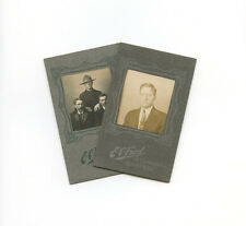 Vintage Photographs, Cartes de Visites, Portrait, E. C. Ford (Montreal, Quebec)