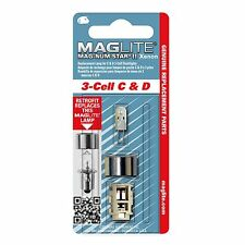 New! Maglite 3 Cell C&D Xenon Retrofits Flange Style Replacement Lamp LMXA301