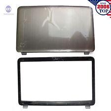 HP Pavilion DV7 DV7-6000 LCD Back Cover 17.3 Silver 665977-001 + Front bezel USA