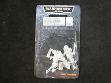 40K Imperial Guard Steel Legion Lascannon Team Metal Blister Pack