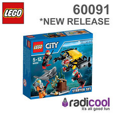 60091 LEGO Deep Sea Starter Set CITY DEEP SEA EXPLORERS Age 5-12 / 90 Pieces