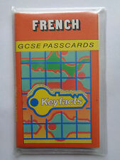 French GCSE Passcards 28 Cards (56 pp). Charles Letts 1988 Wrap cover.