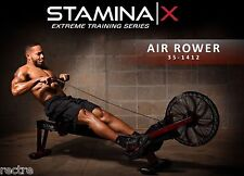 Stamina X AIR ROWER Rowing Machine 35-1412 - Cardio Exercise - UPGRADED NEW 2016