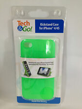 Tech & Go IPhone 4 4S S Case Cover Bright Green