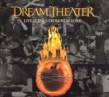 Rare Pre 9/11 Live Scenes from New York by Dream Theater (3cd) Unopened, sealed.