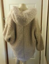 PRIMARK ATMOSPHERE Shaggy  Faux Fur Hooded Coat Jacket Size 20 hoodie jacket