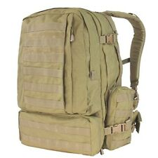 Condor 125 TAN MOLLE 3 Day Mission Assault Patrol Pack Hiking Backpack