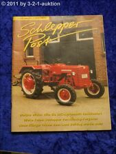 Schlepper Post 5/00 Massey Ferguson 1100 IHC Agriomatic Lanz Bulldog