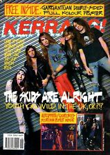 Skid Row on Kerrang Cover 1989    Aerosmith    The Quireboys    White Lion