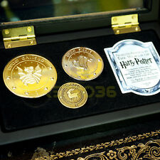 Harry Potter Gringotts Bank Coin Set Licensed by The Noble Collection NEW