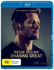 Richie Mccaw: Chasing Great NEW B Region Blu Ray