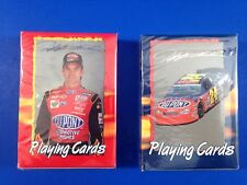 2 Decks 2001 Jeff Gordon Playing Cards By Bicycle Nascar Auto Racing New Sealed