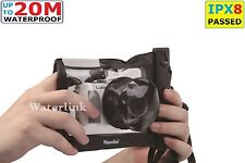 Waterlink IPX8 (66 ft) 100% Camera waterproof case for  Underwater for Canon G7X