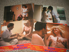 RING DER BEGIERDE 4 AUSHANGFOTOS LOBBY CARDS RING OF DESIRE JENNIFER WEST SEXY