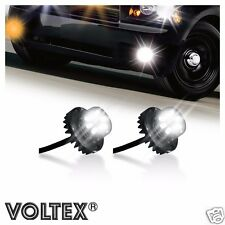 VOLTEX 2pc Clear 2nd Gen. 6W LED Hide-Away Strobe Kit Vehicle Lightbar Bar