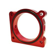 Torque Solution Throttle Body Spacer Red Ford F-150 3.5L Ecoboost / 3.7L V6