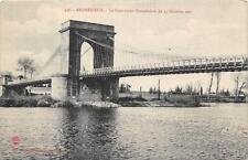 CPA 42 ANDREZIEUX LE PONT AVANT L'INONDATION 1907