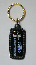 FORD MUSTANG Classic Logo Car Key Chain Keyring Vintage USA New/Old Stock