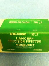 NEW LANCER Precision Pipettor 50 uL Automatic Pipette