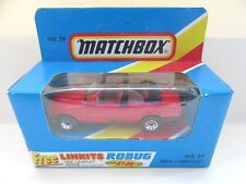 Matchbox Superfast 39d BMW 323i Cabriolet - Red  - Mint/Boxed