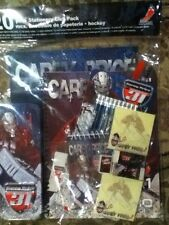 Carey Price 20 Piece Stationery Set #31 NHLPA Hockey pencils notebook ruler New