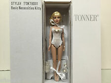 Tonner Tiny Kitty 'Basic Necessities Kitty' blonde blue eyes bending wrists NRFB