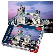 Trefl 1000 Piece Adult Large London Night Tower Bridge Floor Jigsaw Puzzle NEW