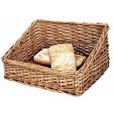 Bread Display Basket 360mm Basket Takeaway Food Pastries Bowl Stackable Wicker