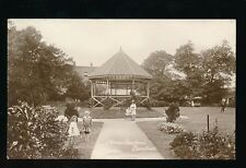 Somerset BURNHAM-ON-SEA Manor Gardens &  Children Used 1913 RP PPC by Mounter