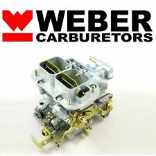 32/36 DGV Progressive Carb Genuine Weber Carburetor With Manual Choke