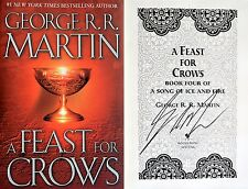 George R.R. Martin~SIGNED~A Feast for Crows~(A Game of Thrones)~HC~BEAUTIFUL~NEW